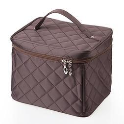 EN'DA big size Nylon Cosmetic bag with quality zipper single