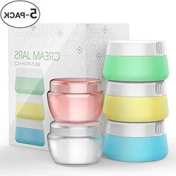 Travel Accessories Bottles Containers Sets, Silicone & PP Cr