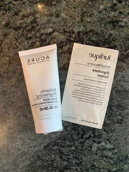ACURE Brilliantly Brightening facial scrub NEW w/ free Jurli