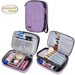 Teamoy Travel Makeup Brush Case, Professional Makeup Train O