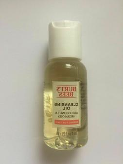 Burt's Bees Coconut & Argan Cleansing Oil Travel Size 1 oz /