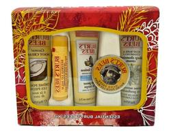 Burt's Bees Essential Everyday Holiday Gift Set, 5 Travel Si