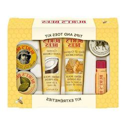 Burt's Bees Tips and Toes Kit Gift Set 6 Travel Size Product