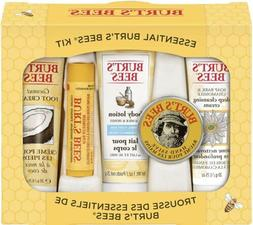 Burt's Bees Essential Everyday Beauty Gift Set, 5 Travel S