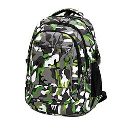 AutumnFall Women Men Camouflage Travel Backpack,Boys Girls N