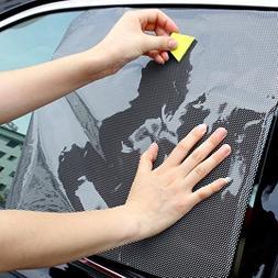 AutumnFall 2Pcs Car Rear Window Side Sun Shade Cover Block S