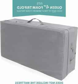 """Carry Case for Milliard Tri-Fold Mattress 