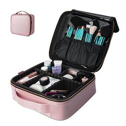 NiceEbag Makeup Bag Travel Cosmetic Bag for Women Cute Makeu