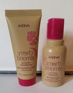 Aveda Cherry Almond Softening Shampoo & Conditioner TRAVEL S