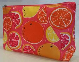 Clinique Citrus Medium Size Cosmetic Travel Case Bag