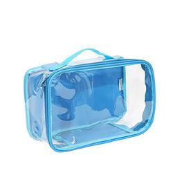 Clear Toiletry Makeup Bag, Cosmetic Organizer, Travel Case,