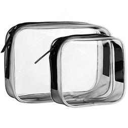TSA Approved Clear Travel Size Toiletry Bag, Airline Carry-O