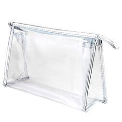 1 Pcs Clear Travel Waterproof PVC Makeup Bag Organizer Cosme