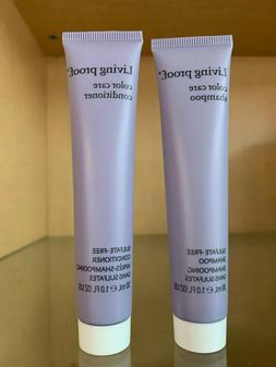 Living Proof Color Care Shampoo & Conditioner 1oz Travel Siz