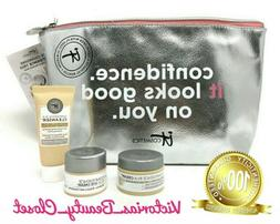 It Cosmetics Confidence in A Cream Eye Cleanser & Bag. 4 Pc