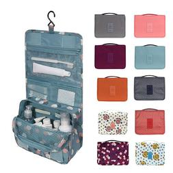 Cosmetic Travel Toiletry Wash Bag Makeup Storage Case Hangin