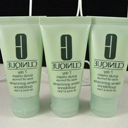 Lot of 3 Clinique 7 Day Scrub Cream Rinse-off Formula 30ml E