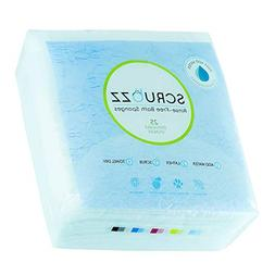 Scrubzz Disposable No Rinse Bathing Wipes - 25 Pack - All-in