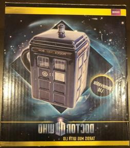 Doctor Who Figural Tardis Mug 17 oz w Lid London Police Box