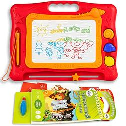 Magnetic Magna Drawing Doodle Board – 2 Water Coloring Boo