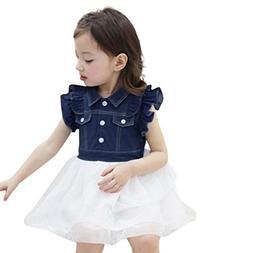 Baby Dress Set,AutumnFall Toddler Kids Baby Girl Summer Slee