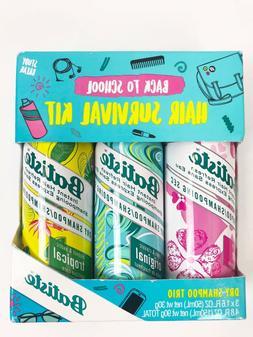 Batiste Dry Shampoo Trio Mini Travel Size 1.6 oz Pack of 3 H