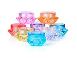 3 Gram 3 ML / 5 Gram 5 ML Cosmetic Sample Empty Containers W
