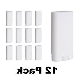 Empty Deodorant Containers  - BPA Free Solid White Plastic,