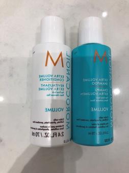 Moroccanoil Extra Volume Shampoo & Conditioner 2.4oz Travel