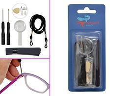 Eyeglasses Repair Tool Kit | Multi Use Repair Kit | for Eyeg