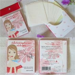 Facial Oil Absorbing Blotting Film Paper, Oil Remover Clean