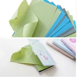 Facial Skin Cleanser Oil Control Sheets Absorbing Tissue Fac