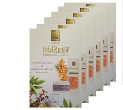 Eminence Firm Skin Acai Masque Card Sample Set of 6 Travel S