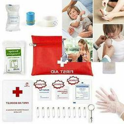 Small Travel First Aid Kit - 76 Piece Clean, Treat and Prote