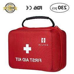 First Aid Kit, Defler 230pcs First Aid Kits 2018 for Busines