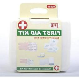 FIRST AID KIT TRAVEL SIZE BOX DURABLE CASE Emergency Home Ca