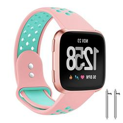 AutumnFall Fitbit Versa Bands, 1PC Replacement With Ventilat