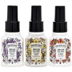 Poo Pourri Original Citrus, Lavender Vanilla, and Tropical H