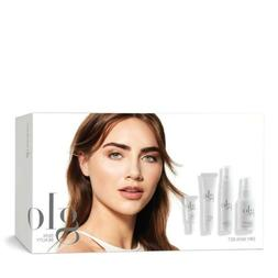 Glo Skin Beauty Dry Set - 4 Piece Travel-Size Facial Kit for