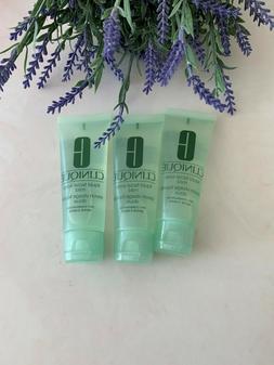 3 Clinique Liquid Facial Soap Mild Dry Combination 1.7oz /50