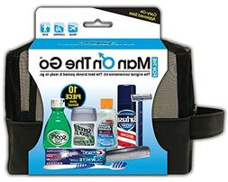 "Convenience Kits ""Man On The Go"" Premium 10-Piece Travel"