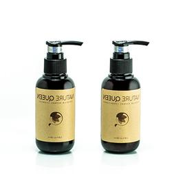 Nature Queen herbal shampoo and conditioner set