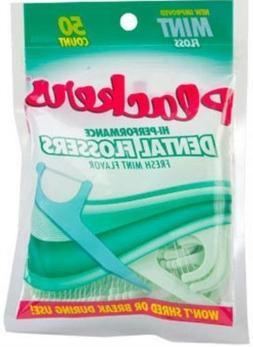 Plackers Hi-Performance Mint Dental Flossers for Clean Healt