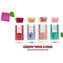 Bath & Body Works NEW Holiday Tradition's Set of 4 3oz Trave