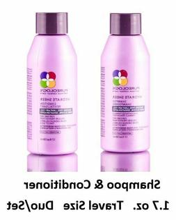 Pureology Hydrate Sheer Shampoo & Conditioner 1.7 oz. Travel