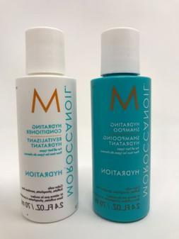 Moroccanoil HYDRATING Shampoo & Conditioner 2.4oz Travel Siz