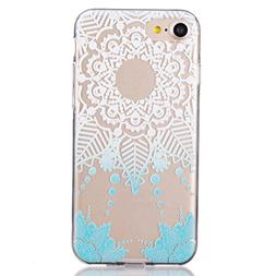 iPhone 7 Case,AutumnFall Ultra Slim Colorful Vintage Skin TP