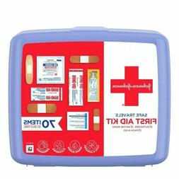 Johnson and Johnson Red Cross Portable Travel First Aid Kit,