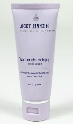 Michael Todd Jojoba Charcoal Facial Scrub Exfoliator Travel