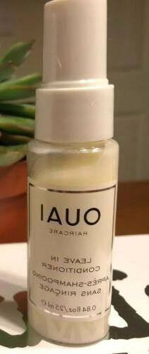 1 OUAI Haircare Leave In Conditioner Travel Size Lot  0.84oz